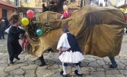 Τα έθιμα της «Καμήλας» και του «Γάμου της Μανιώς» στη Γαλάτιστα και των «Φωταρών» στο Παλαιόκαστρο